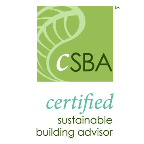 Everbuilt Professional Credentials - CSBA - Certified Sustainable Building Advisor
