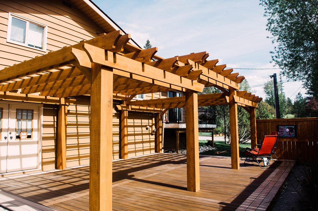 EVERbuilt Developments Ltd. Outdoor Living Experience pergola
