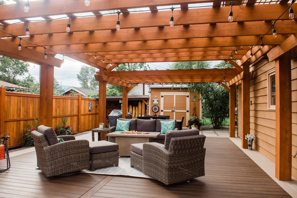 EVERbuilt #OLE unique and beautiful outdoor living experience